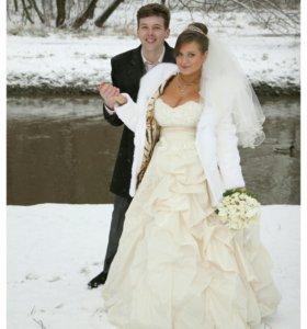 Свадебный фотограф на зиму