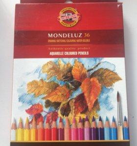 Акварельные карандаши KOOH-I-NOOR 36 шт