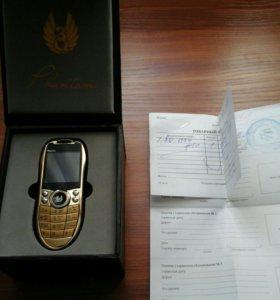 стильный золотой телефончик