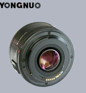 YONGNUO 50MM f/1.8 на Canon