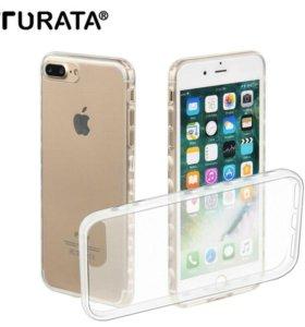Силиконовый чехол для iPhone 7. Новый.