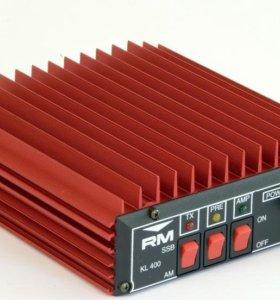 Усилитель для cв радиостанций. RM KL400
