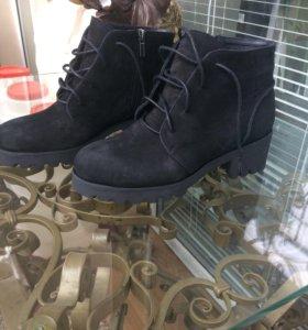 Ботинки зима 39