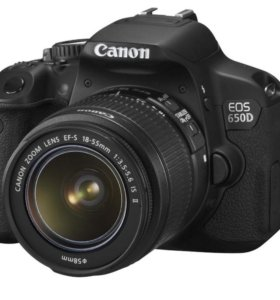 Canon 650D + сопутка