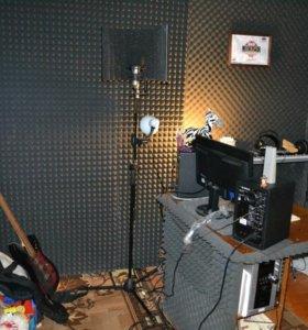 "Звукозапись на студии ""Зебра rec/Production"""