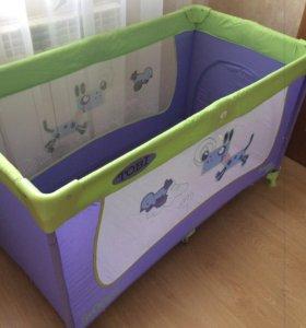 Манеж-кровать Jetem c3 Tobi