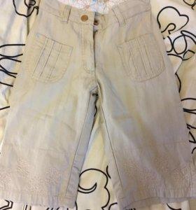 Фирменные брюки для девочки
