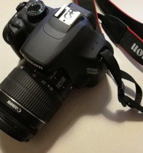 Продам новый зеркальный фотоаппарат Canon 1200D Ki