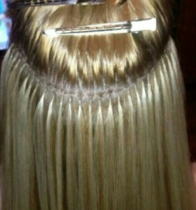 Горячее наращивания волос