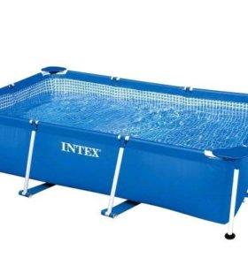Бассейн Intex, каркасный, 300х200х75 см, 28272
