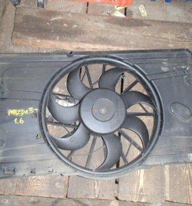 Диффузор в сборе для Mazda 3 (BK) 2002-2009