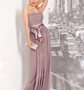 Вечернее платье-комбинезон