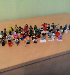 Лего минифигурки (53 шт.)