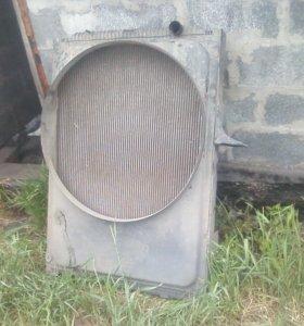 радиатор охлаждения рено премиум