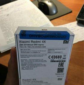 Xiaomi redmi 4x pro, новый