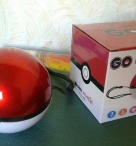 Колонка bluetooth Pokeball Go
