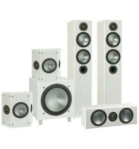 Новые акустические системы Monitor Audio Bronze