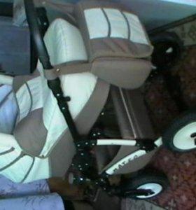 коляска ( в комплектации Sport)+люлька в полной комплектации