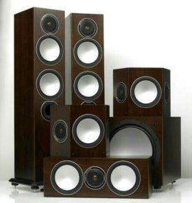 Новые акустические системы Monitor Audio Silver