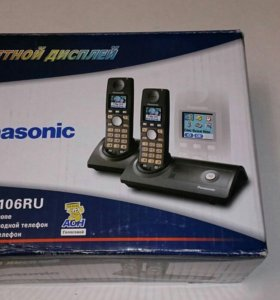 "📞📞 Радиотелефон ,,Panasonic"" KX-TG8106RU"