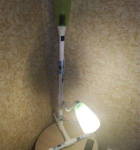 Светильник из труб