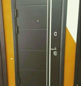 Входная дверь с установкой Молдинг Стад 117мм