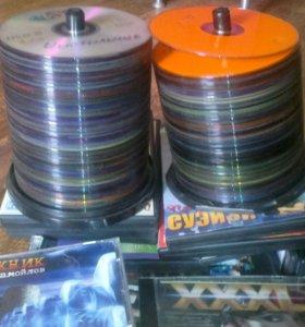 сборники фильмов на DVD дискках