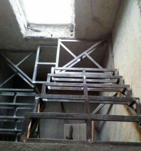 Стальные двери, ворота,козырьки, лестницы.