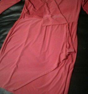 Роскошные платья красного цвета