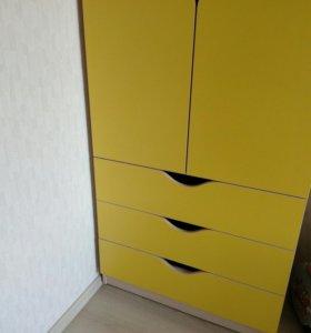 Кровать+Шкаф+матрац
