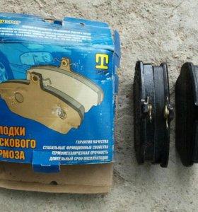 Колодки дискового тормоза газ 3302, 3110 и их моди