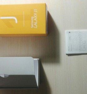 Коробка от Samsung GALAXY J1