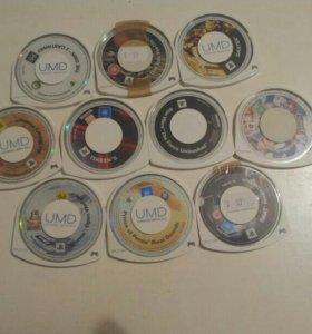 Игры для PSP (11 шт.)