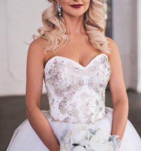 Свадебное Платье от дизайнера Anna Kuznetcova