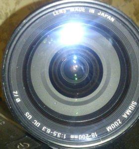Sigma DS 18-200 mm 1:3.5-6.3