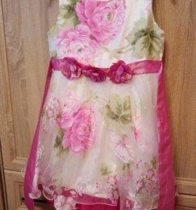Платья для девочек размер 140