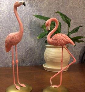 Декор, фламинго