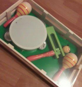 Музыкальный набор игрушка новый