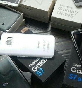 "5,5""""Новый Samsung galaxy S7 edge, гарантия"