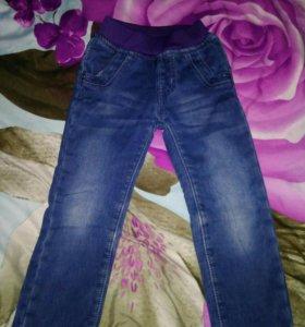 Брюки джинсы зима