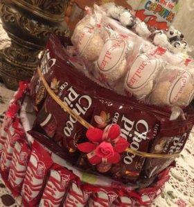 Подарки из сладостей