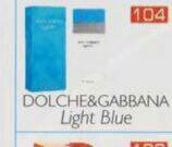 Dolche Gabbana light Blue