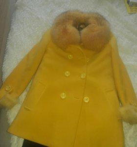 Пальто теплое