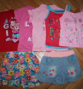 пакет одежды на лето рост 98-104