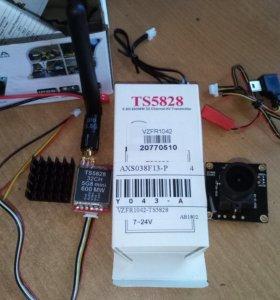 Набор для FPV. Передатчик TS5828 в комплекте + камера HD 700TVL Sony CCD PAL или NTSC FPV