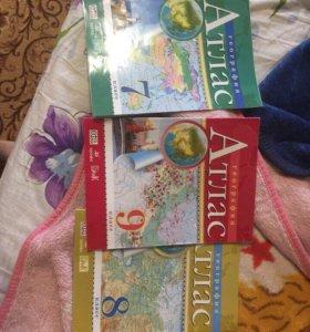Атласы и книги огэ
