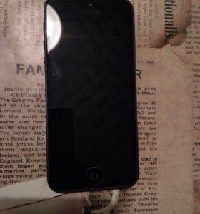 iPhone 5 Black 64GB Lte