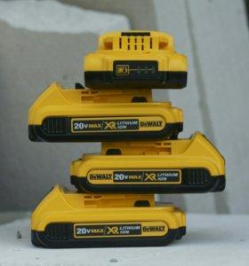 Батареи Деволт XR 2.0 Ампера