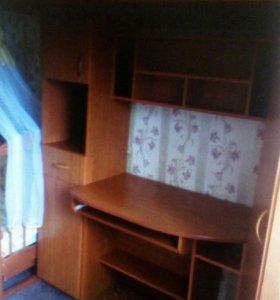 Школьный уголок, кровать чердак