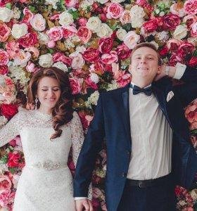 Press-wall, фотозона, фотостена на свадьбу, юбилей